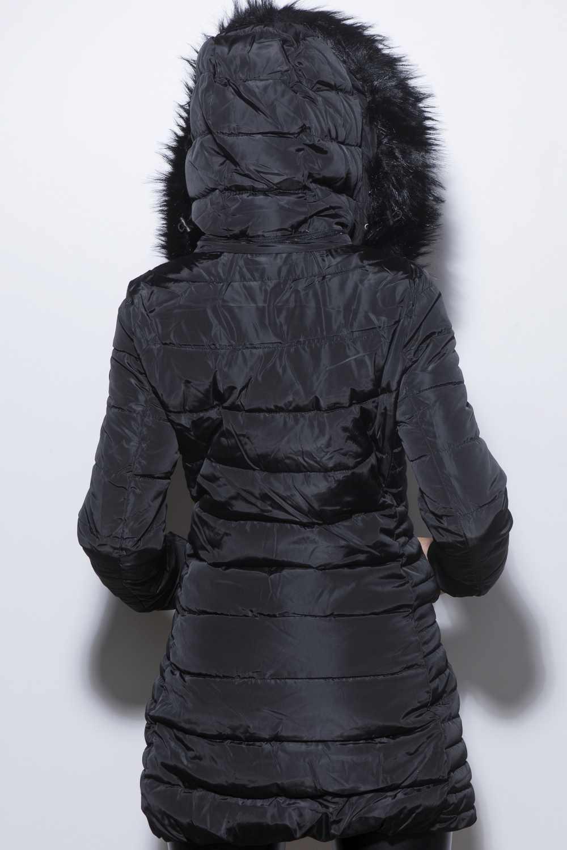 AMNESIA Oldalt sűrűn steppelt kabát Amnesia webáruház