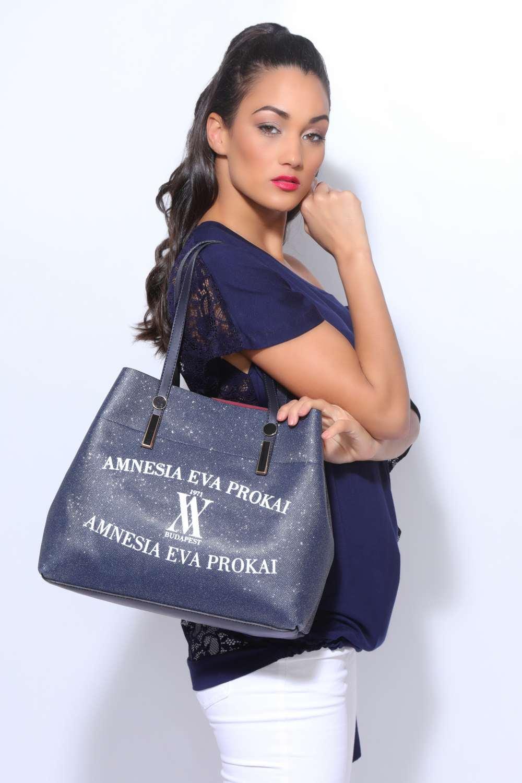 AMNESIA Csillámos táska Amnesia webáruház
