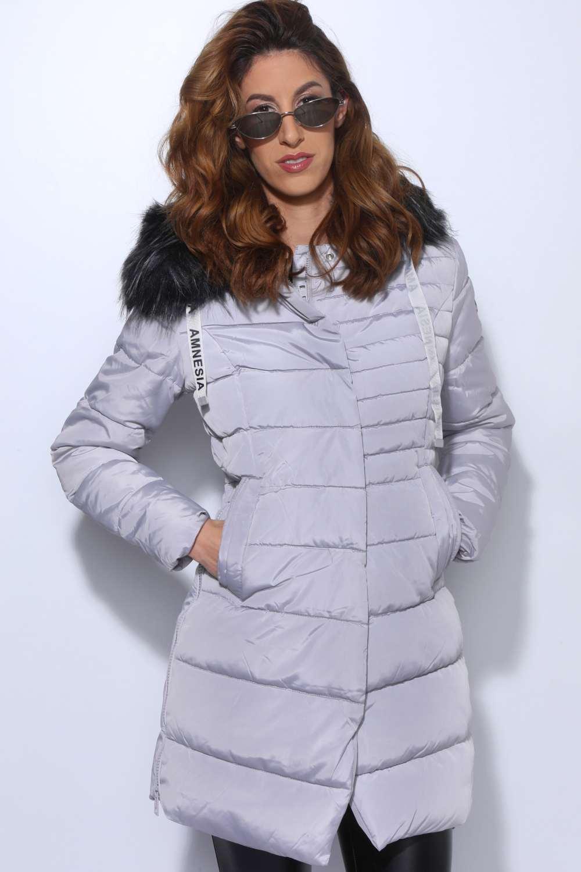 AMNESIA Felül sűrűn steppelt kabát - Amnesia webáruház 174ad7df98