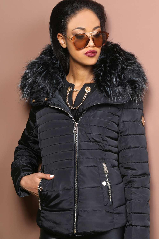 AMNESIA Szőrmés kabát - Amnesia webáruház c864928105