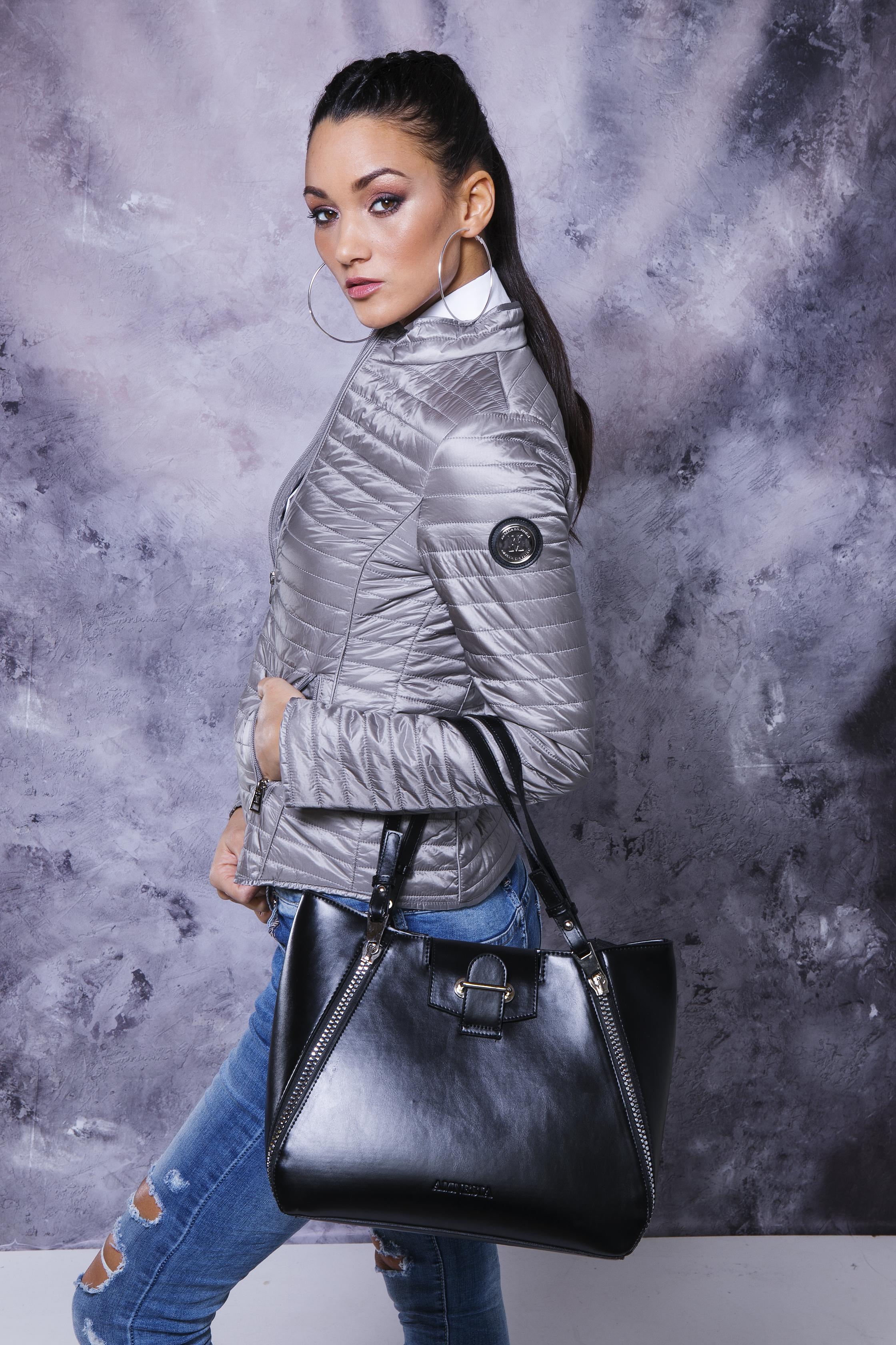 AMNESIA Állógalléros kabát Amnesia webáruház