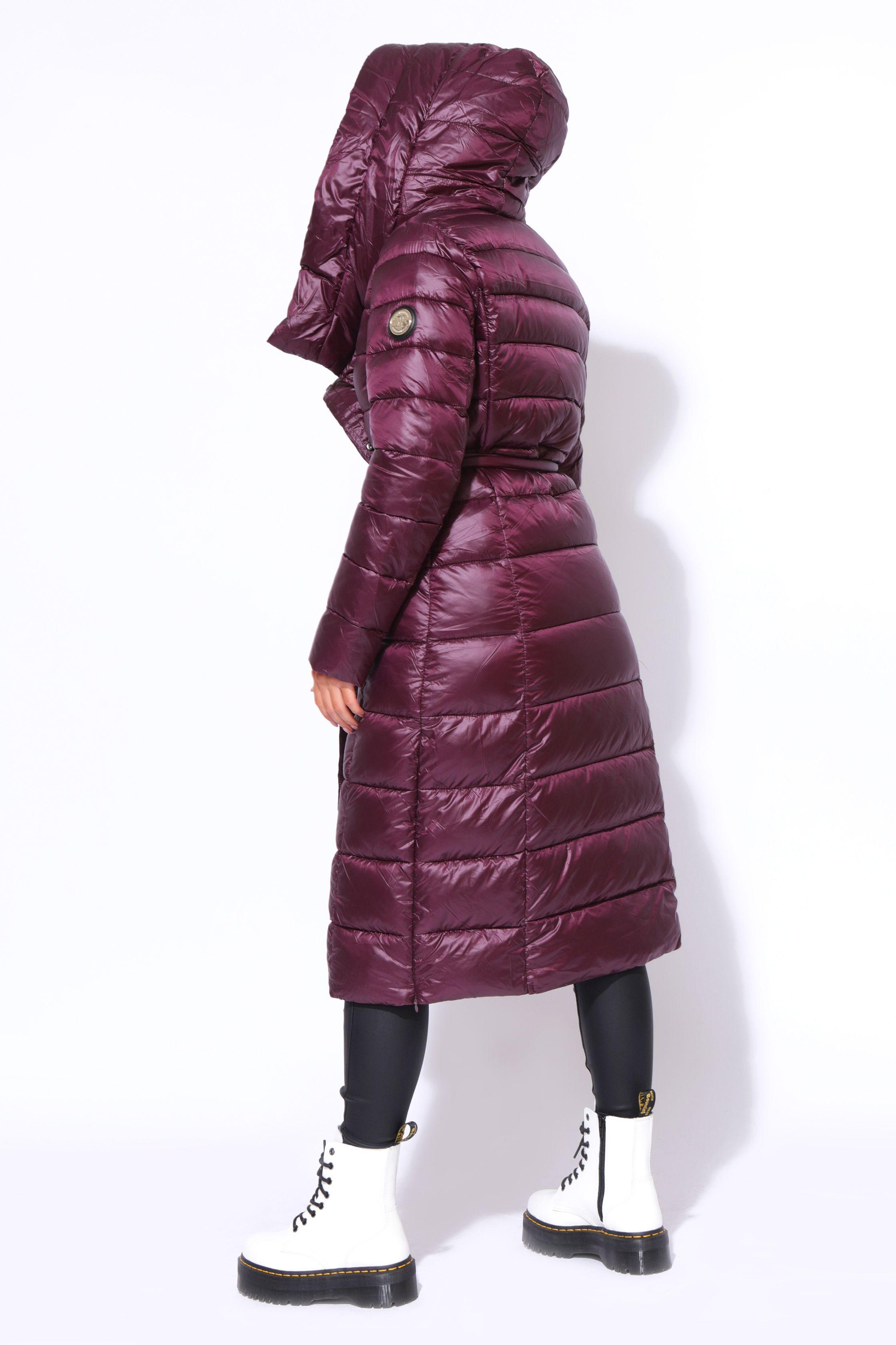 AMNESIA Ferde zippes hosszú kabát Amnesia webáruház