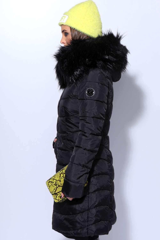 AMNESIA Steppelt hosszú kabát Amnesia webáruház