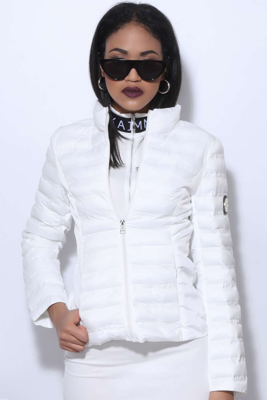 Amnesia Éva Prokai fehér kabát (M es méret