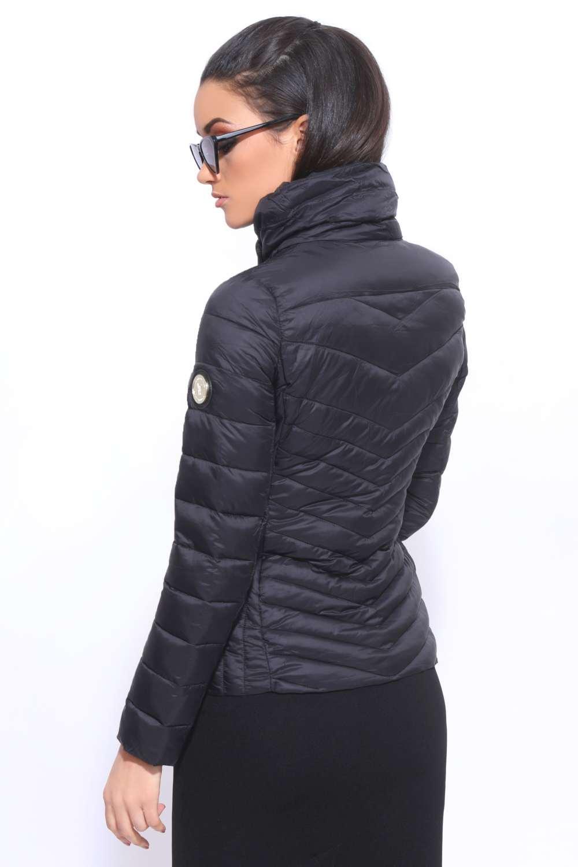 AMNESIA Átlósan zippes kabát Amnesia webáruház