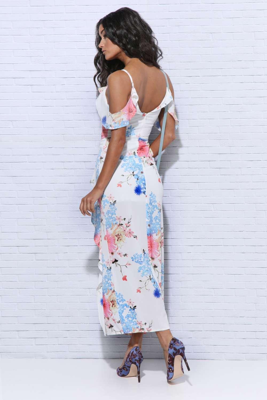 e2433089e0 AMNESIA Virágos maxi ruha · AMNESIA Virágos maxi ruha