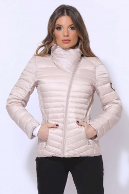 AMNESIA Átlósan zippes kabát 0d608fd928