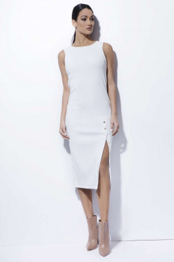 AMNESIA Maida bordázott ruha cbf271d158