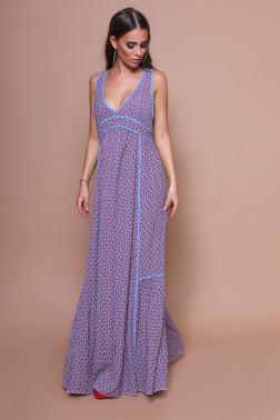 ffe331e75c DENNY ROSE Mintás maxi ruha