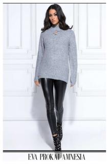 AMNESIA Fűzős elejű pulóver