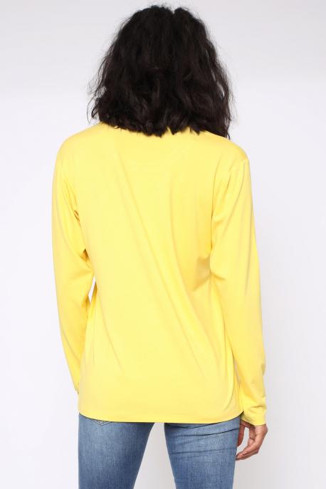AMNESIA Poppy felső sárga