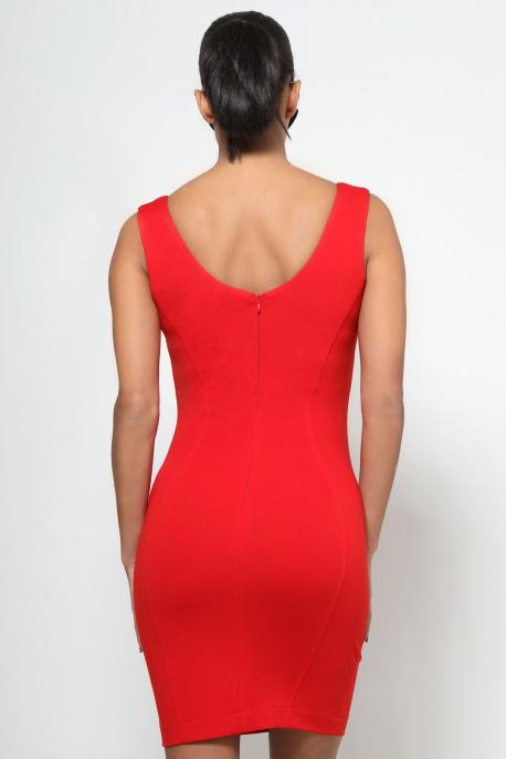 AMNESIA Anicska ruha piros