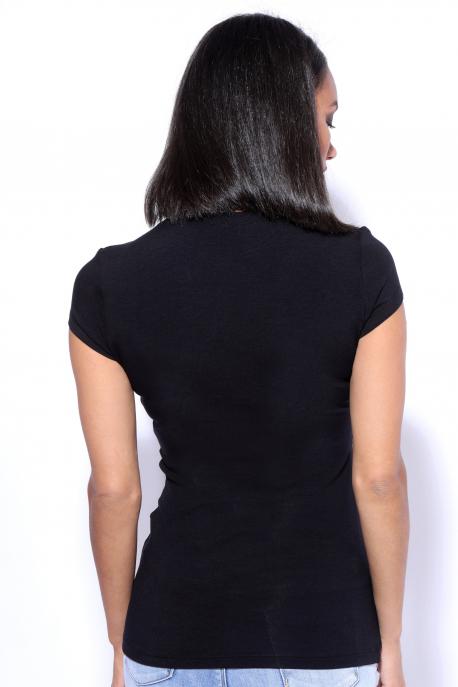 AMNESIA Xihin felső printed fekete