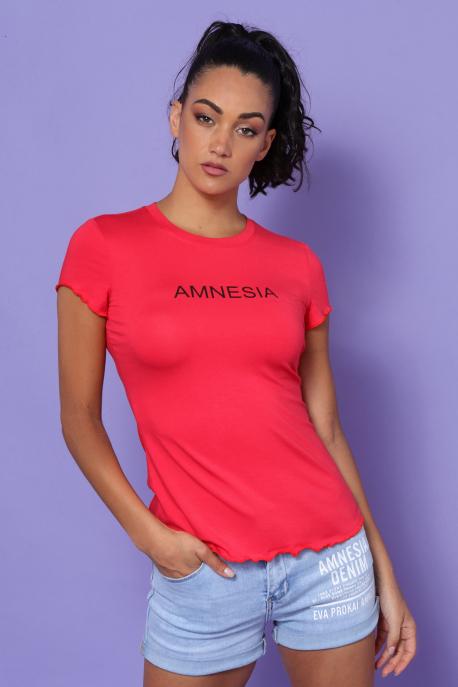AMNESIA Damilia felső piros