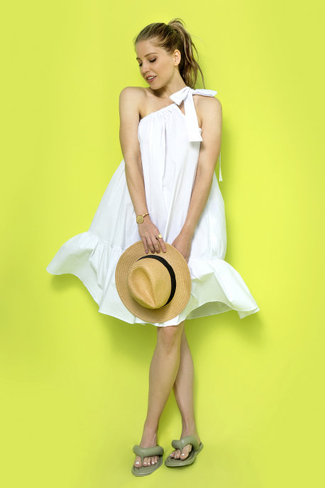 AMNESIA Toven ruha fehér