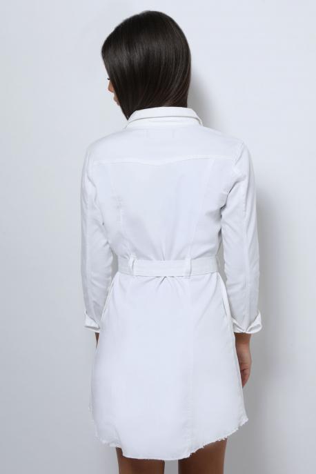 AMNESIA Farmer ruha fehér