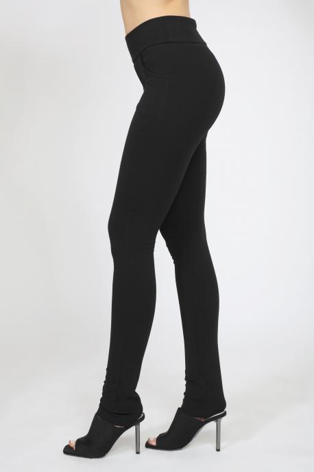 AMNESIA Darlino nadrág fekete