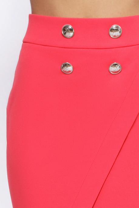 AMNESIA Jenola szoknya rózsaszín