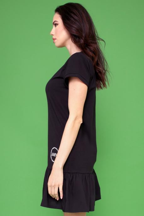 AMNESIA Toppo ruha fekete