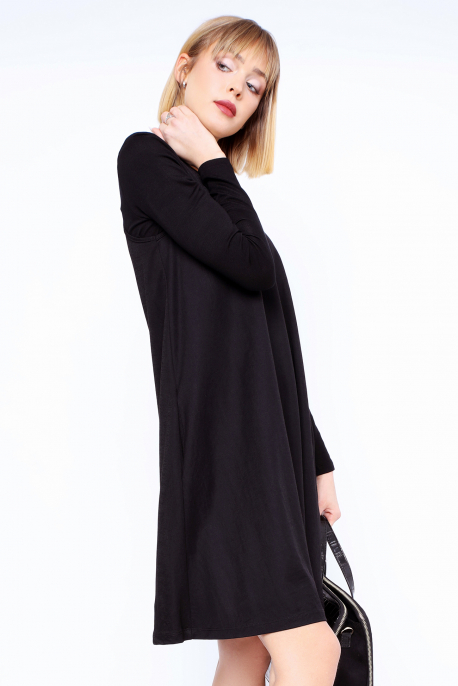 AMNESIA Tikiri ruha + Gotta felső fekete/fekete
