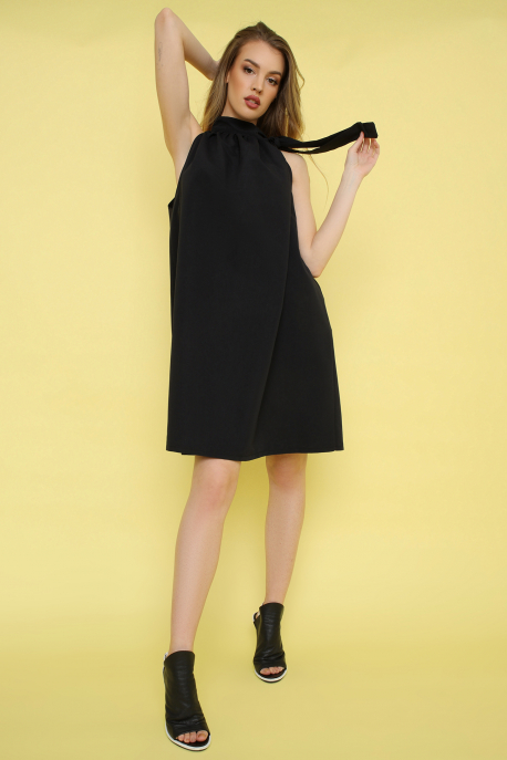 AMNESIA Lison ruha fekete