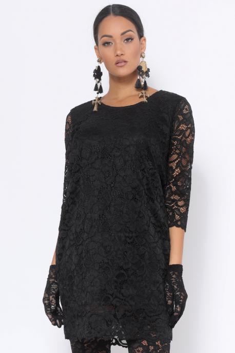 AMNESIA Didot ruha fekete
