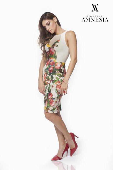 AMNESIA Virágos ruha