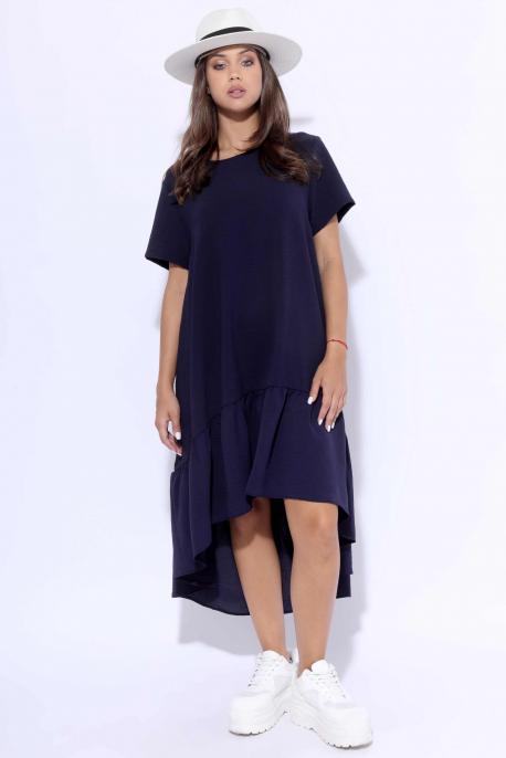 AMNESIA Delisha plus ruha kék