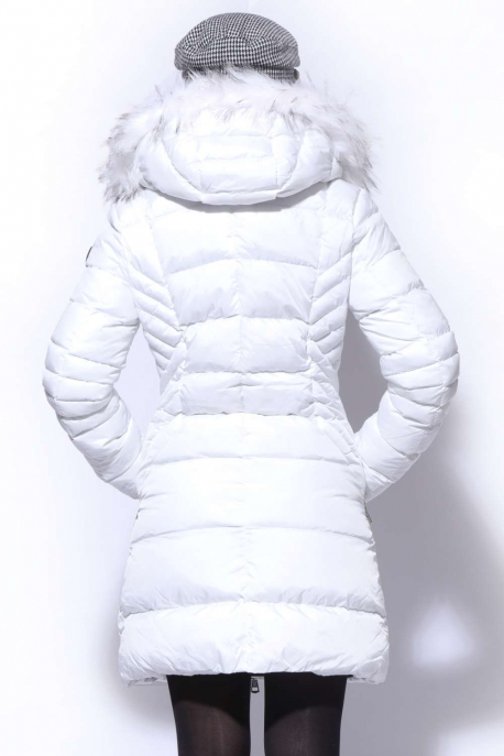AMNESIA Oldalt V steppelt kabát