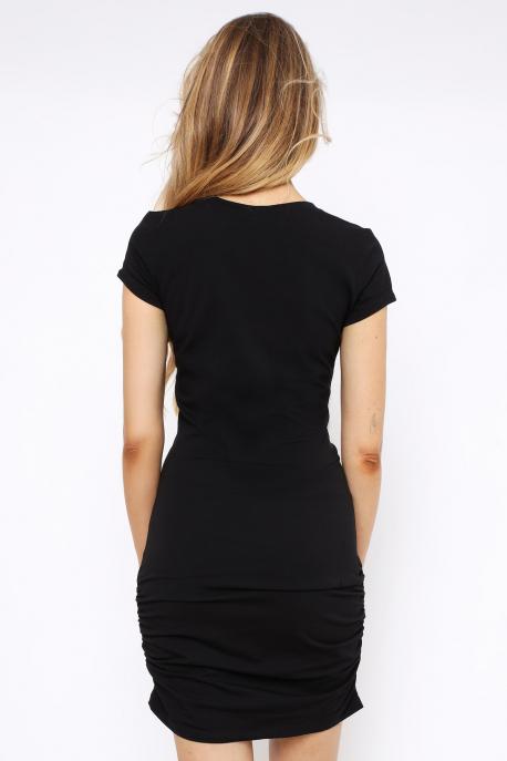 AMNESIA Adda ruha fekete/pink