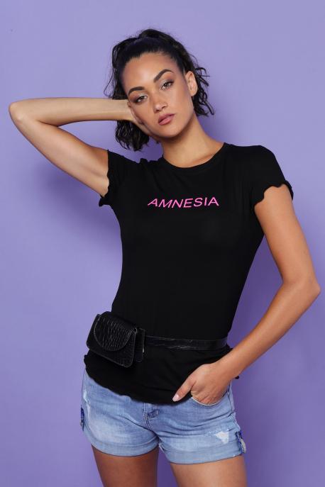 AMNESIA Damilia felső fekete