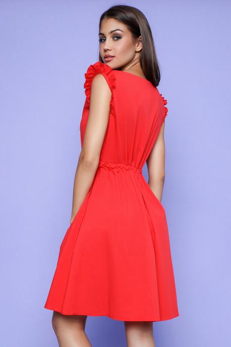 AMNESIA Tiliana ruha piros