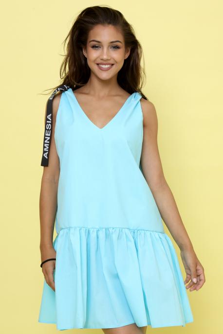 AMNESIA Lana ruha kék