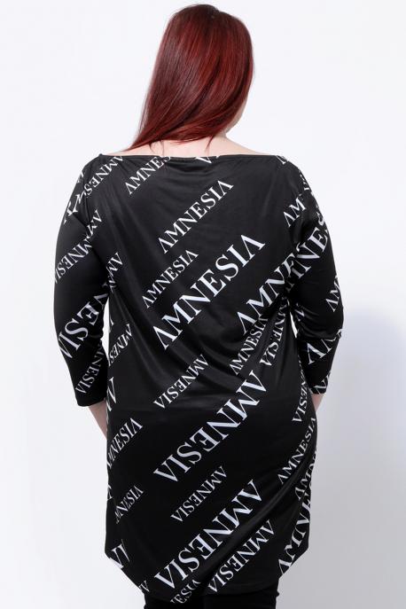 AMNESIA Alera plus ruha fekete