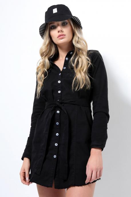 AMNESIA Farmer ruha fekete