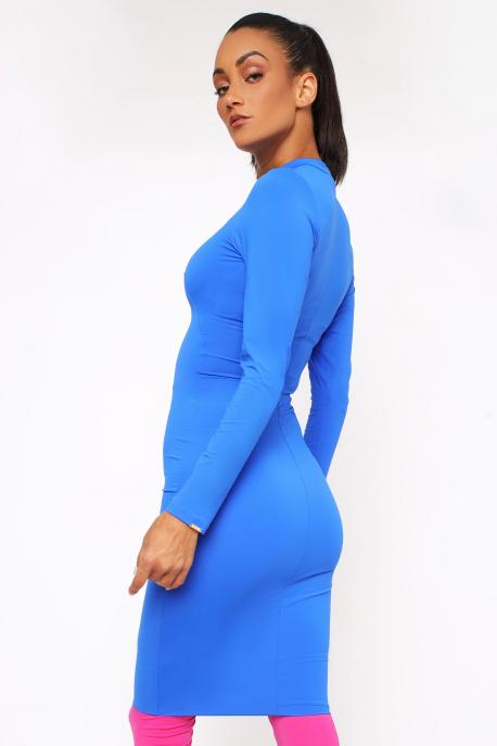 AMNESIA Mexi ruha kék