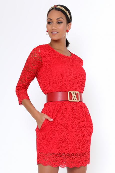 AMNESIA Didot ruha piros