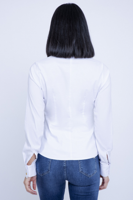 AMNESIA Babett blúz fehér