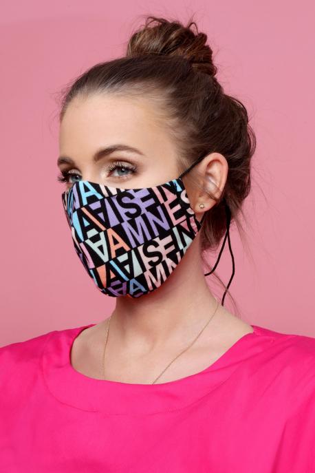AMNESIA Mask with neck strap