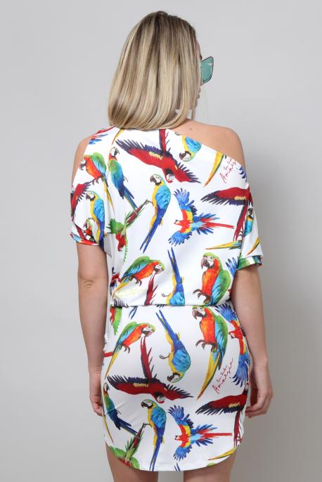 AMNESIA Euridike ruha papagáj