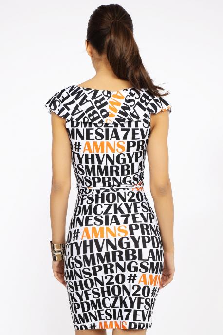 AMNESIA Jamaki ruha betűs