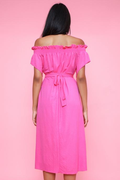 AMNESIA Talima ruha rózsaszín