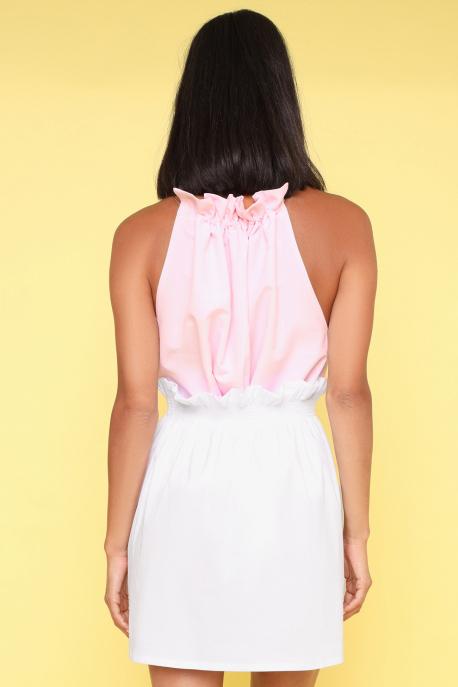 AMNESIA Tulpi szoknya fehér