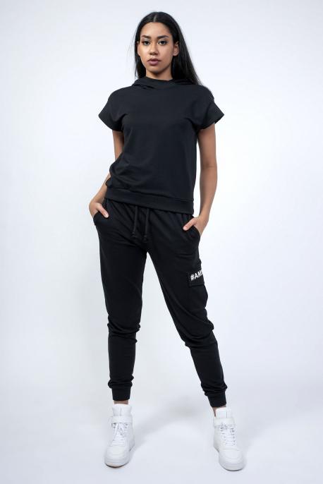 AMNESIA Joanne nadrág fekete