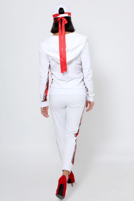 AMNESIA Diamond jogging fehér