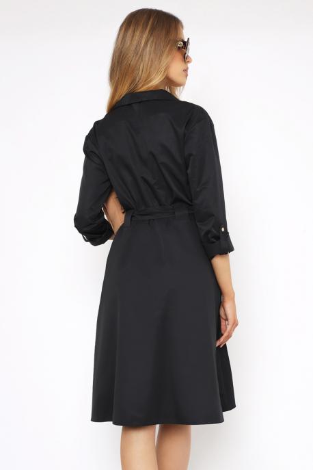 AMNESIA Texina ruha fekete