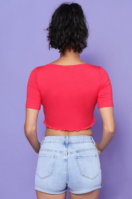 AMNESIA Daikini felső piros