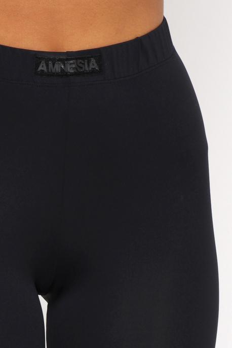 AMNESIA Madda nadrág fekete
