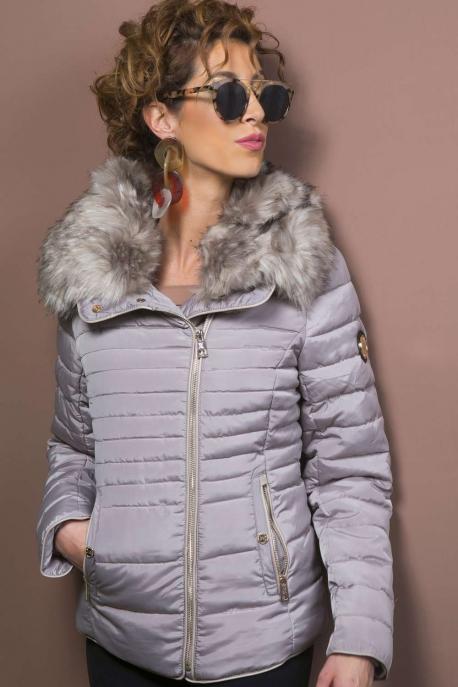 AMNESIA Szőrmés kabát