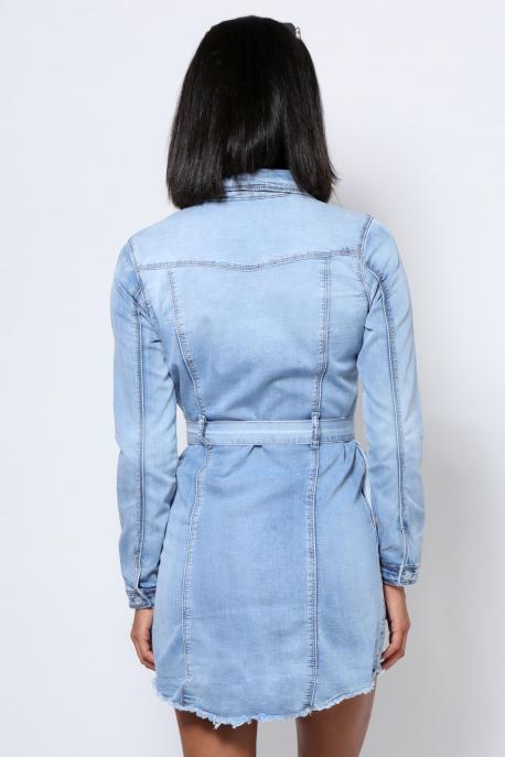 AMNESIA Farmer ruha kék